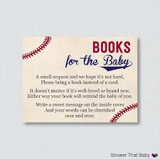baby shower instead of a card bring a book baseball baby shower printable bring a book by showerthatbaby