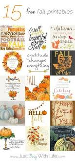 10 free fall printables ready to frame for instant diy wall