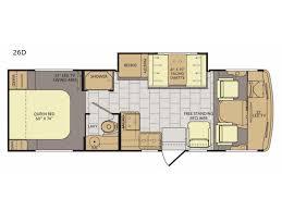 Fleetwood 5th Wheel Floor Plans Flair Motor Home Class A Rv Sales 5 Floorplans