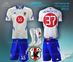 desain kaos futsal jepang visual football fantasy kit design japan fa adidas