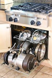 Organizing Pots And Pans In Kitchen Cabinets Kitchen Cabinet Pots And Pans Organization 8 Kevin Amanda