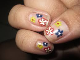 picture 4 of 6 easy nail art designs for short nails photo