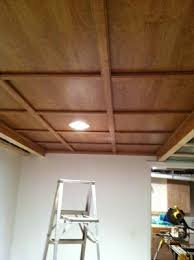 found this awesome idea for a drop ceiling remodel so going to do
