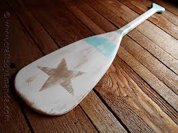 Pottery Barn Paddles Pottery Barn Inspired Weathered Painted Oar Crafts By Amanda