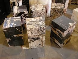 square petrified wood indogemstone