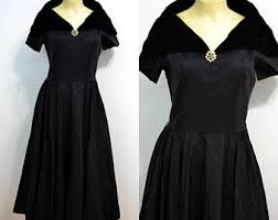 vintage formal dress etsy