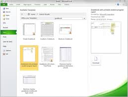 free gradebook template for excel 2010 office blogs