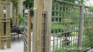 garden fence u0026 screen privacy ideas empress of dirt