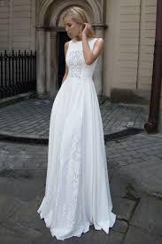 robe mariã e fluide robe de mariée transparente en georgette de soie oksana mukha