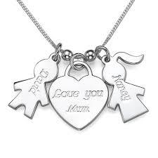 girl necklace pendant images Boy girl charm necklace with love you mum pendant mynamenecklace uk jpg