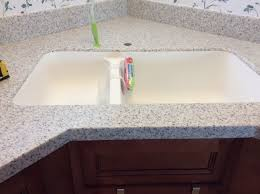 lg hi macs sinks my kitchen remodel with lg hi macs solid surface in white granite i