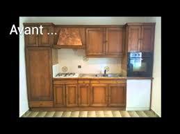 renovation cuisine bois avant apres cuisine rénover une maison
