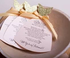 bridesmaid invitation card blush bridesmaid invitation bulk pack 6ct xoxokristen