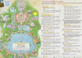 Holiday World Map by Observations From Epcot December 2 Touringplans Com Blog