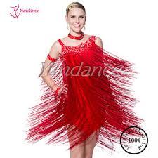 l 11306 jazzy fringe camisole dress for latin rumba fringe salsa