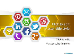 Social Media Ppt Template Ppt Powerpoint