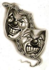 laugh now cry later joker tattoo tattos for men