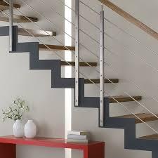 treppen aus metall sanierte treppe holz metall und stahl mit bucher treppen modell