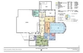 Fitness Center Floor Plans Pacific Union Club Guest Room And Fitness Center Renovations San