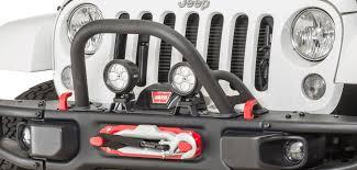 jeep stinger bumper maximus 3 0400 008aux stinger auxiliary light brackets for 13 17