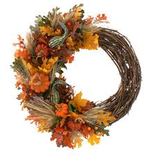 40 thanksgiving autumn wreaths to decorate your home