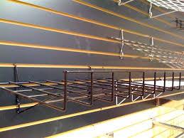 Peg Board Shelves by Universal Shelf For Slatwall Gridwall Pegboard