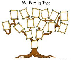 free family tree template with pictures family tree small