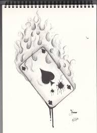 tattoo design ace card by metal shark on deviantart