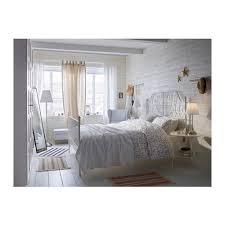 Ikea White Metal Bed Frame Leirvik Bed Frame Lönset Ikea