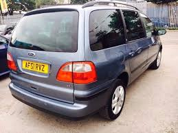ford galaxy 7 seater ghia petrol manual 2001 parking sensors