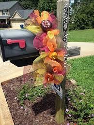 best 25 fall mailbox ideas on fall mailbox decor