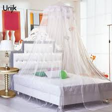 Lace Bed Canopy Urijk 1pc Lace Bed Canopy Hung Dome Mosquito Net White Brand