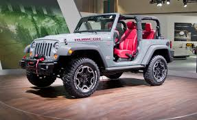 2010 jeep lineup 2013 jeep wrangler rubicon 10th anniversary edition debuts at l a