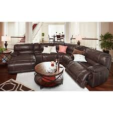 Marlo Furniture Financing by St Malo 6 Piece Power Reclining Sectional With Left Facing Chaise