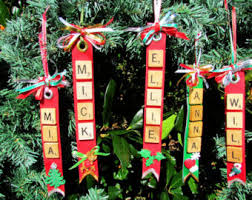 scrabble ornament etsy
