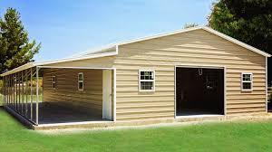 Garage With Carport American Steel Carports Inc American Carports Inc Metal Carports