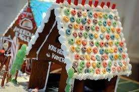 gingerbread houses thimbleanna