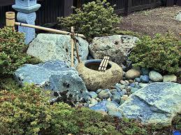 japanese tsukubai water basin garten tsukubai