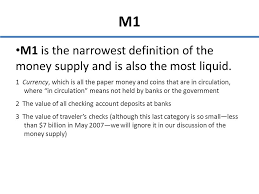 Money banking and the federal reserve ppt download