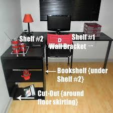 Wooden Computer Desk Plans Building A Computer Desk From Scratch Designing Inspiration Rudy