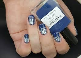 polishedblissfully winter icicle nails for glamnailschallengejan