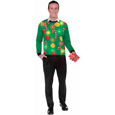 Lighted Halloween Costumes by Christmas Light Up Ugly Sweater Men U0027s Halloween Costume