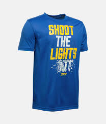 Shoot Out The Lights Boys U0027 Sc30 Shoot The Lights Out T Shirt Under Armour Us