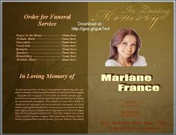 funeral program template 79 best funeral program templates for ms word to images