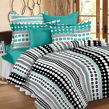 buy story home 186 tc sateen double bedsheet with 2 pillow covers