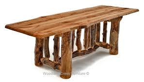 rustic log dining room tables impressive decoration log dining table capricious log dining table