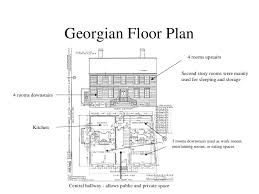 georgian floor plans pictures georgian floor plan the architectural digest