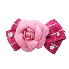 flower bow easybow flower bow dog collar attachment by dogo pink with same