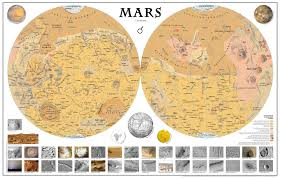 Azimuthal Map Mars Digital Museum Of Planetary Mapping Page 7