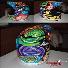 awesome motocross helmets just got my new helmet wrap moto related motocross forums
